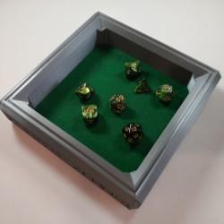 Dice Rolling Tray 3D Printed Dwarven Design Large