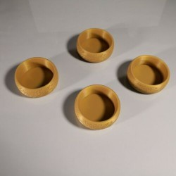 Tea Light Holders 3D Printed Elven Inspired Design - 4 set