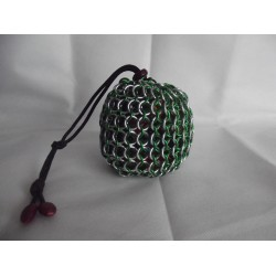 Harry Potter Slytherin Themed Large Chainmaille Dice Bag