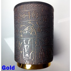 Egyptian Dice Cup with Gold Base