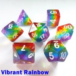 Aurora Gem Vibrant Rainbow