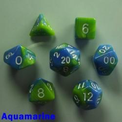 Bescon Miniature Gemini Aquamarine