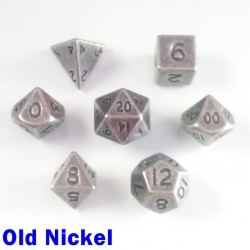 Bescon Miniature Metal Old Nickel