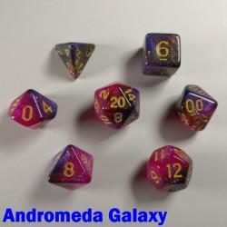 Cosmic Andromeda Galaxy