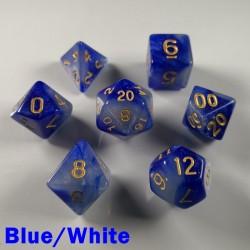 Cosmic Blue/White