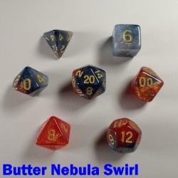 Cosmic Butter Nebula Swirl