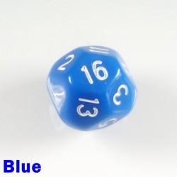 D16 Round Opaque Blue