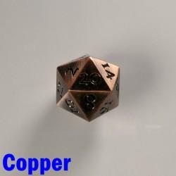D20 Metal Copper