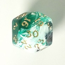 D30 Marble Green