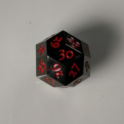 D30 Metal Black / Red