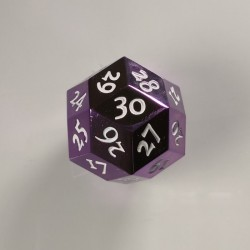 D30 Metal Purple / White