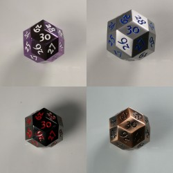 D30 Metal Set of 4
