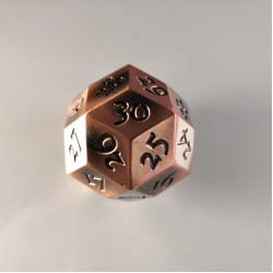 D30 Metal Copper Spindown