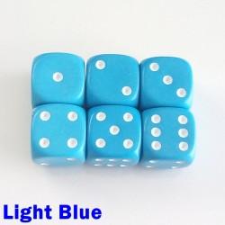 14mm D6 Light Blue