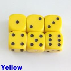 14mm D6 Yellow