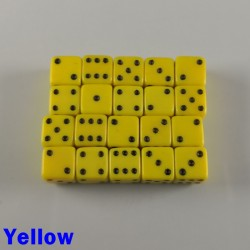 7mm D6 Yellow