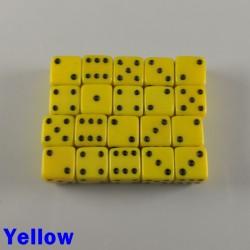 7mm D6 Yellow