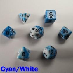 Elemental Cyan/White