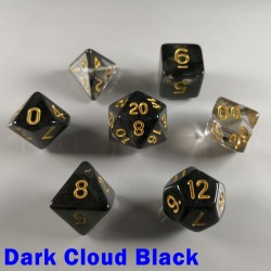 Elemental Gem Dark Cloud Black