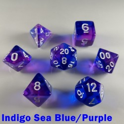 Elemental Gem Indigo Sea Blue/Purple