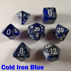 Elemental Warped Cold Iron Blue