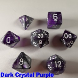 Elemental Warped Dark Crystal Purple