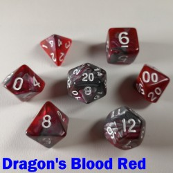 Elemental Warped Dragon's Blood Red