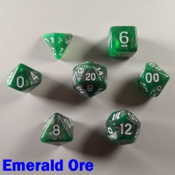 Elemental Warped Emerald Ore