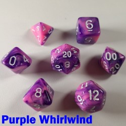 Elemental Warped Purple Whirlwind