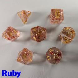 Glitter Flakes Ruby