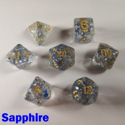Glitter Flakes Sapphire