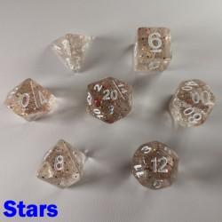 Glitter Flakes Stars