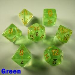 Iridescent Glitter Green