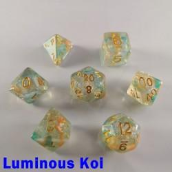 Iridescent Glitter Luminous Koi