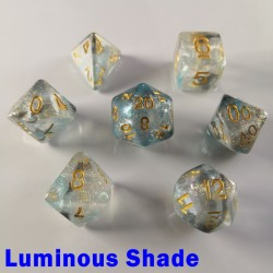 Iridescent Glitter Luminous Shade