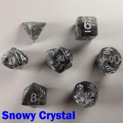 Hollow Snowy Crystal