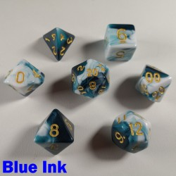 Marble Blue Ink