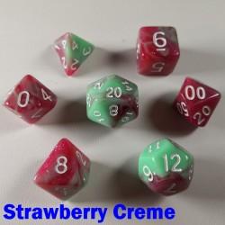 Marble Strawberry Creme
