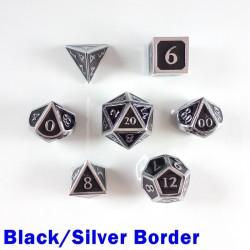 Bordered Black/Silver