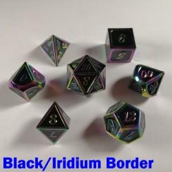 Bordered Black/Iridium