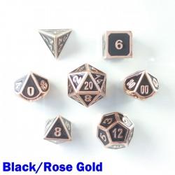 Bordered Black/Rose Gold