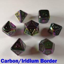 Bordered Carbon/Iridium