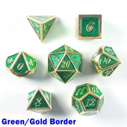 Bordered Green/Gold