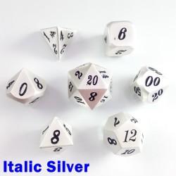 Solid Italic Silver