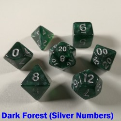 Mythic Dark Forest (Silver Numbers)