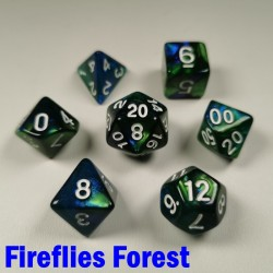 Mythic Fireflies Forest