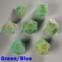 Opal Green/Blue