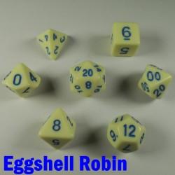 Opaque Eggshell Robin
