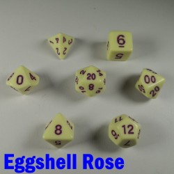 Opaque Eggshell Rose