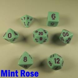 Opaque Mint Rose
